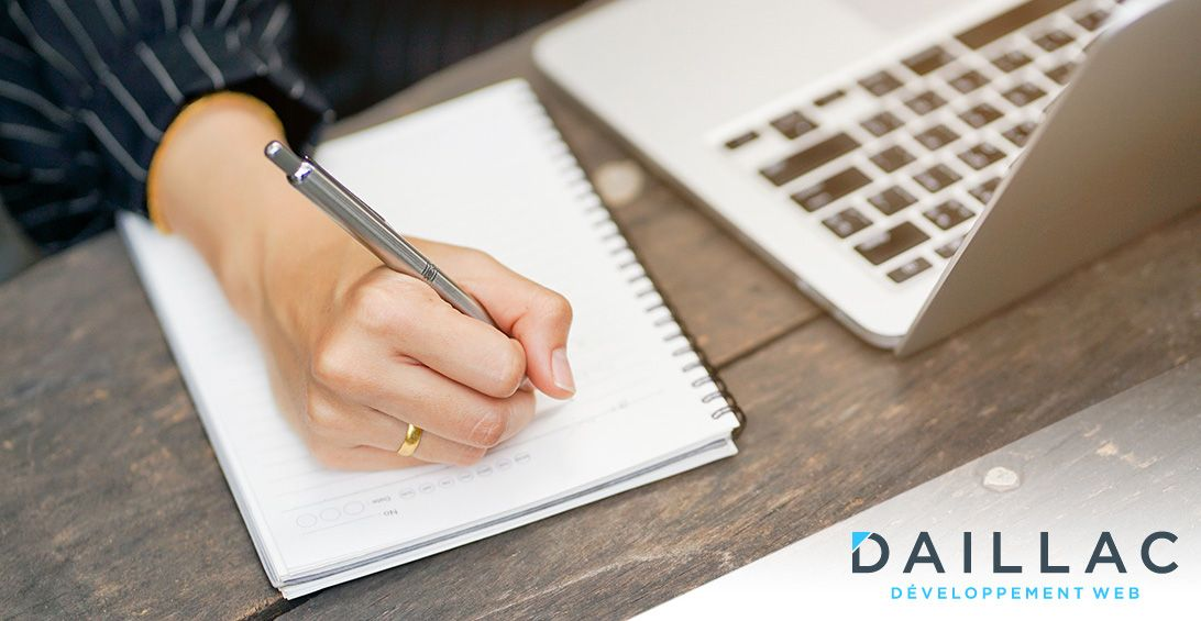 L'importance des textes sur votre site web